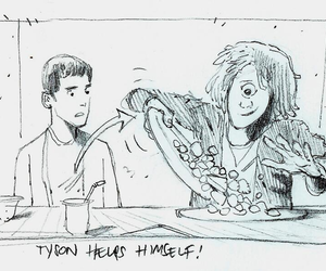 storyboard, tyson, and percy jackson image