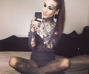 monami frost, tattoo, and frost image