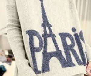 paris, fashion, and sweater image