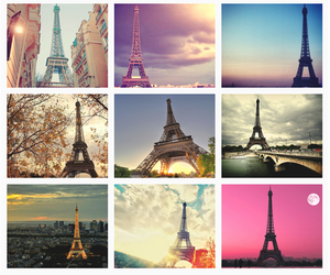paris, eiffel tower, and francia image