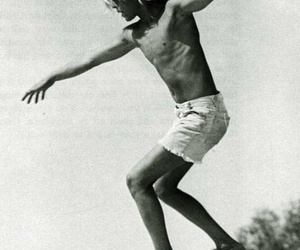 boy, summer, and black and white image