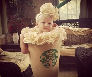 starbucks, cute, and baby image