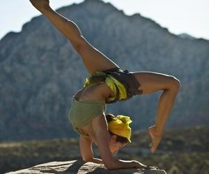 yoga and fitness image