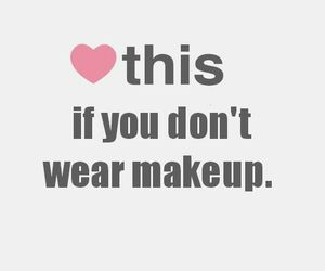 hate, makeup, and fake image