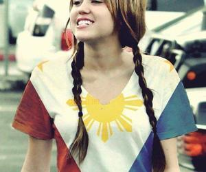 miley cyrus, Philippines, and smile image