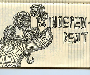 doodle, independent, and drawing image