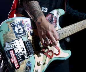 blue, guitar, and billie joe image