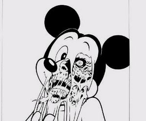 zombie and mickey mouse image