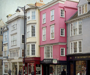 house, home, and pink image