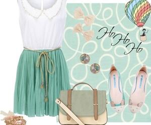 casual, dress, and fashion image