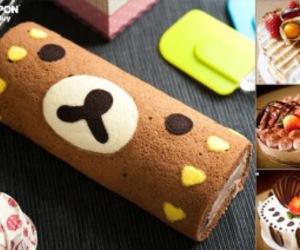 japanese food, kawaii, and roll cake image