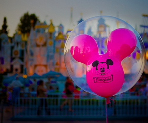 disney, disneyland, and pink image
