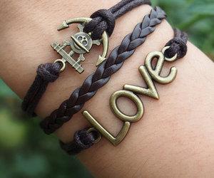 bracelet, jewelry, and infinity bracelet image