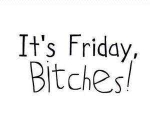 friday, bitch, and quotes image