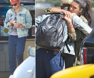 Jessica Szohr and Ed Westwick Together in LA