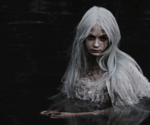 blue hair and rusalochka image