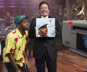 tyler the creator and jimmy fallon image