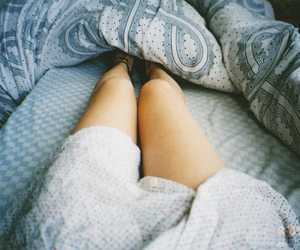 legs, bed, and vintage image
