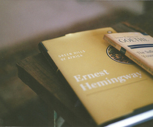 books and ernest hemingway image