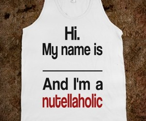 nutella, nutellaholic, and food image