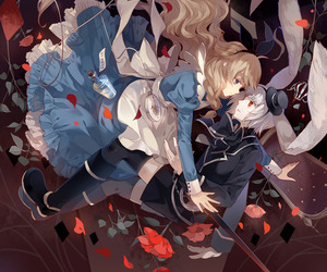 alice in wonderland, alice, and anime image
