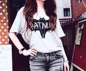 batman, girl, and fashion image