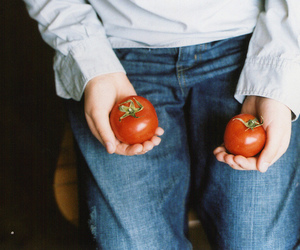 tomato, vintage, and jeans image