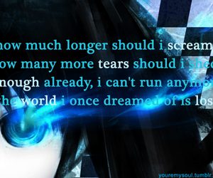 anime, quote, and black rock shooter image