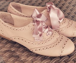 shoes, pink, and oxford image