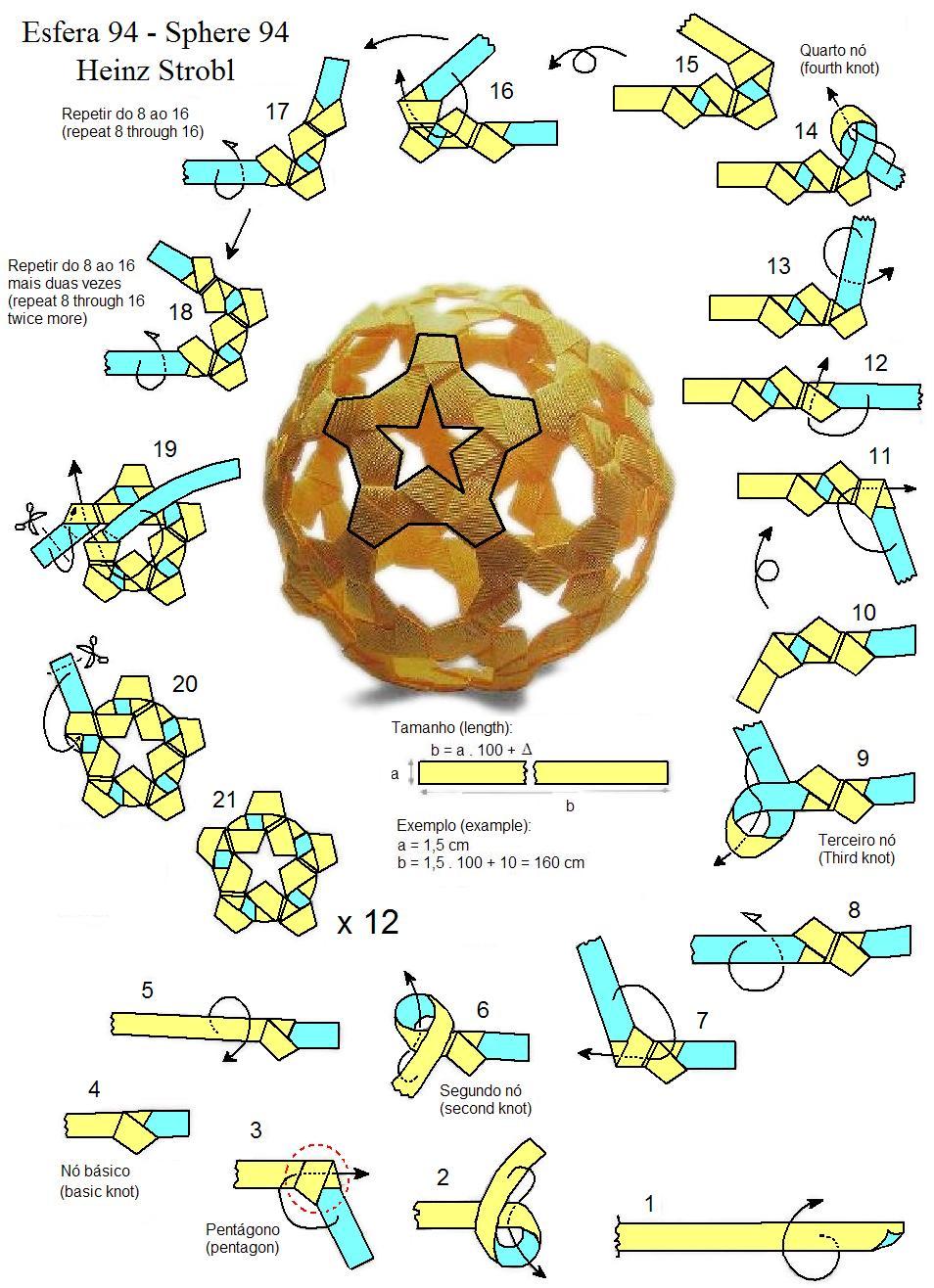 Kusudama sphere folding instructions origami instruction pooptronica