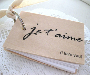 love, I Love You, and french image