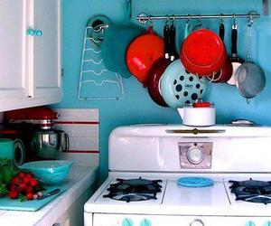kitchen, vintage, and pretty image