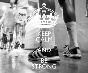 adidas, be strong, and handball image