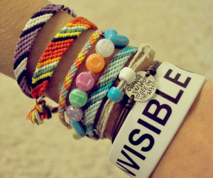 bracelet and invisible image