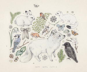 art, animals, and drawing image