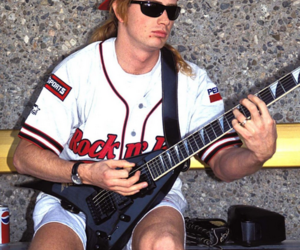 dave mustaine, megadeth, and thrash image
