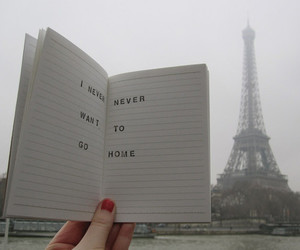 paris, home, and text image