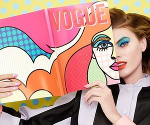 model, vogue, and fashion image