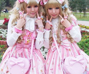 angelic pretty, lolita, and pink image
