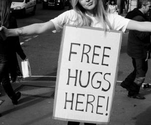 hug, girl, and free image
