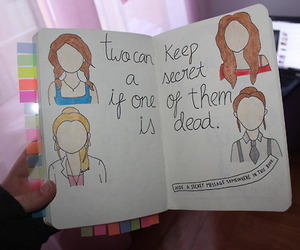 book, wreck this journal, and pll. image