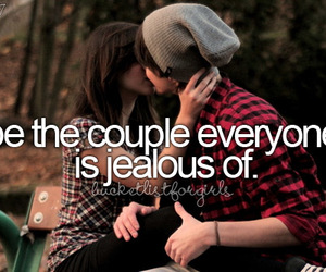 couple, love, and jealous image