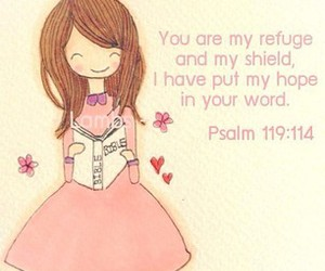 bible, doodle, and girl image