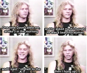 dave mustaine, James Hetfield, and megadeth image