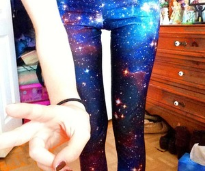 fashion, galaxy, and hipster image