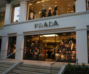 Prada, luxury, and shop image
