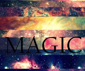 magic and galaxy image