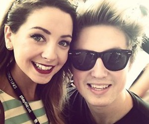 zoella, marcus butler, and youtubers image