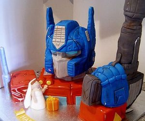 cake, cool, and transformers image