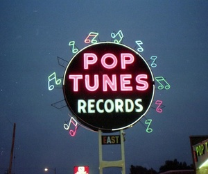 record, pop, and music image